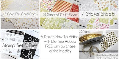 The Most Wonderful Time Holiday Product Medley Online Class ($104.95 + tax)