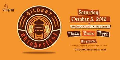 2019 Town of Gilbert Oktoberfest tickets