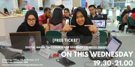 DIGITAL MARKETING COURSE FOR BEGINNERS [LIMITED SEATS] tickets