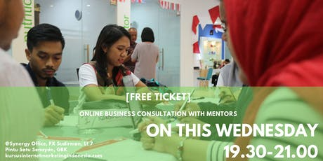 [FREE TICKET] ONLINE BUSINESS CONSULTATION WITH MENTORS tickets