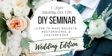 DIY Seminar - Wedding Edition tickets