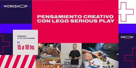 Workshop: Pensamiento creativo con LEGO Serious Play entradas