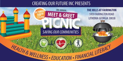 """Meet and Greet """"Saving Our Communities"""" Picnic"""