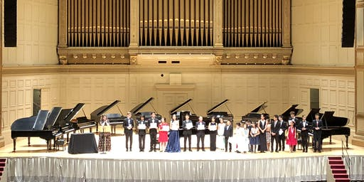 2019 STEINWAY PIANO COMPETITION WINNERS CONCERT
