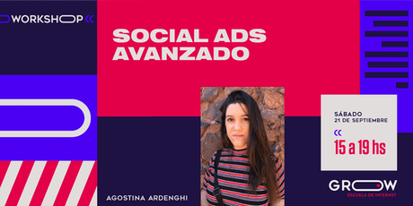 Workshop: Social Ads (avanzado) entradas