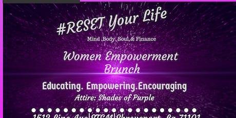 Reset Women Empowerment Brunch tickets