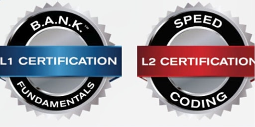 BANKCODE L1/L2 Trainer Certification [L1 Jan. 27th -29th / L2  Jan. 30th -31st]