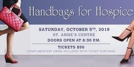 Handbags for Hospice St. Thomas 2019 tickets