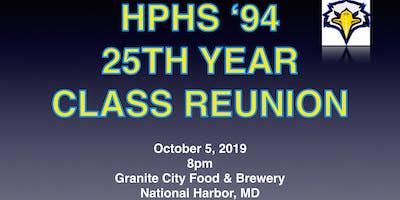 High Point High School Class of 1994 25th Year Reunion EARLY BIRD