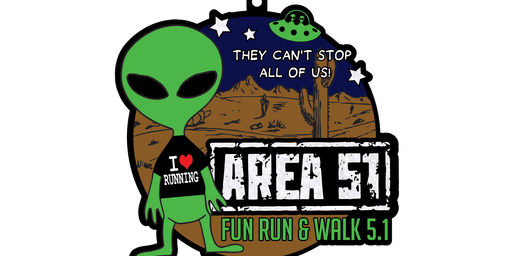 2019 AREA 51 Fun Run and Walk 5.1 -Raleigh