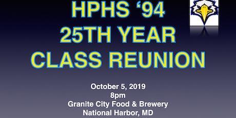 High Point High School Class of 1994 25th Year Reunion- REGULAR TICKET tickets
