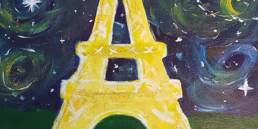 Brunch & Paint - Starry Paris Night