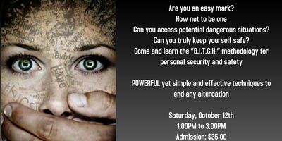 SAFE - Women's Self Defense Seminar