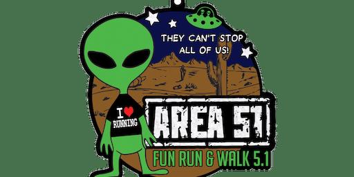 2019 AREA 51 Fun Run and Walk 5.1 -Jacksonville