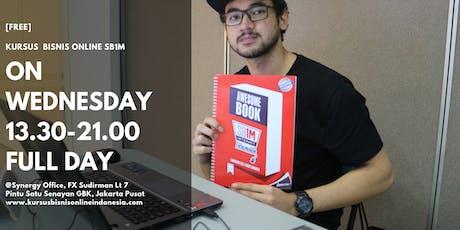 KURSUS BISNIS ONLINE SB1M INDONESIA(GRATIS) tickets
