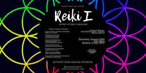 Reiki Level 1: Intro to Self Healing
