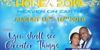 HONEA 2019 (HEAVEN ON EARTH)