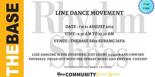 LINE DANCE MOVEMENT (WOMEN & MEN)