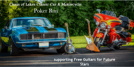 Chain Of Lakes Classic Car & Motorcycle Poker Run tickets