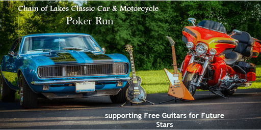 Chain Of Lakes Classic Car & Motorcycle Poker Run