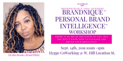 BrandNique Personal Brand Intelligence Workshop