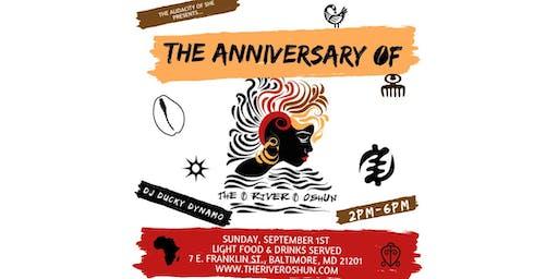 The Anniversary Celebration of The River Oshun