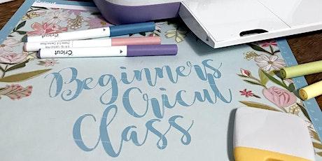 Beginner's Cricut Class tickets