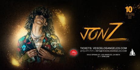 Vesos Presents Jon Z One Night Only @ The Hottest Club In Hollywood Academy tickets