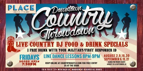 Downtown Country Throwdown tickets