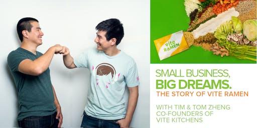 Small Business, Big Dreams - Networking Mixer and Talk