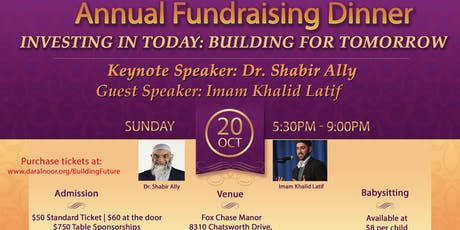 Investing in Today: Building for Tomorrow tickets