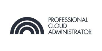 CCC-Professional Cloud Administrator(PCA) 3 Days Training in Ottawa