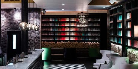 Cocktails in a Book Themed Bar: Novela [SOMA]   tickets