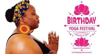 Birthday Yoga Festival tickets