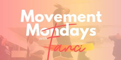 Movement Mondays tickets