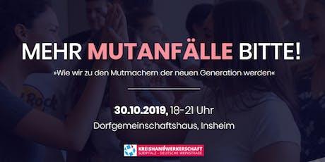 Non-Profit Event - powered by MEIN MUTIGER WEG und Kreishandwerkerschaft tickets