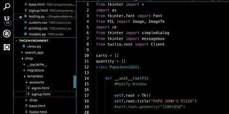 3 weeks python programming bootcamp (real-world applications