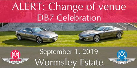Aston Martin DB7 25th Anniversary Celebration tickets