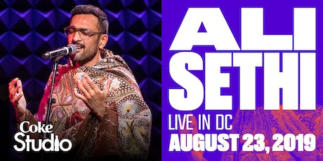 Ali Sethi - Live in DC tickets