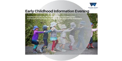 Early Childhood Information Evening