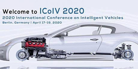 2020 International Conference on Intelligent Vehicles (ICoIV 2020) Tickets