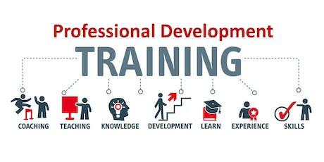 FREE Professional Development Training tickets