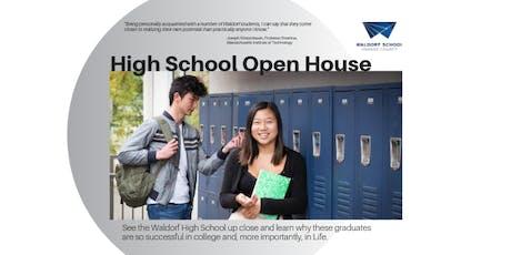 High School Open House tickets