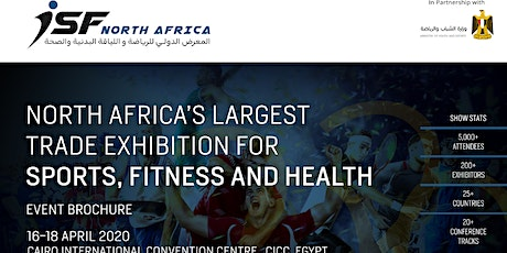 International Sports & Fitness (ISF) North Africa tickets