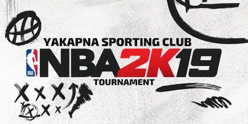 Yakapna Sporting Club - NBA 2K Fundraising Tournament