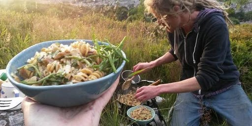 Wild Food Forage and Cook-up, Castleberg Crag, Settle