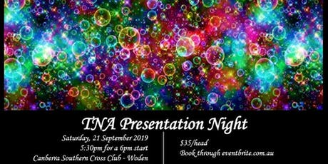 TNA Presentation Dinner 2019 tickets