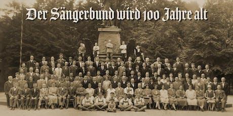 Jubiläumskonzert 100 Jahre Sängerbund Friedrichshafen e.V. Tickets