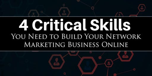 Network Marketing Online - The 4 Critical Skills to Top Earner Success