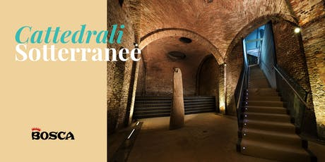 Tour in English  - Bosca Underground Cathedral on 3rd September  4pm biglietti